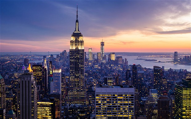 New York City.  Yep, people made that.  No biggie. (http://www.telegraph.co.uk/travel/travelnews/10555505/New-York-named-favourite-city-among-travel-writers-in-Britain.html)